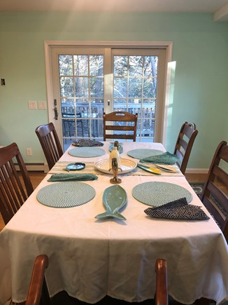 Brewster Cape Cod vacation rental - Bright and cheerful dining area