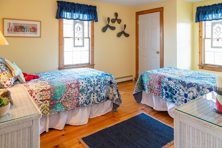 Chatham Cape Cod vacation rental - Guest Bedroom - 2 Twins, Second Floor
