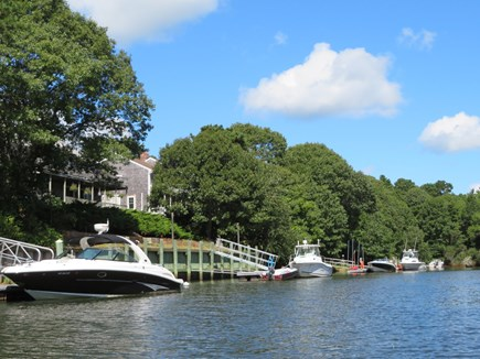East Falmouth Cape Cod vacation rental - The river. Short float to Washburn Island.