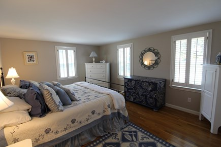 Harwich Port Cape Cod vacation rental - Large master bedroom on first floor.