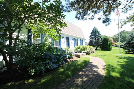 Harwich Port Cape Cod vacation rental - Home very well landscaped