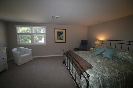 Harwich Port Cape Cod vacation rental - Large bedroom on second floor with king size bed.