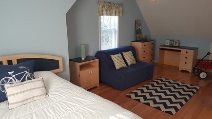 Eastham Cape Cod vacation rental - 2nd Floor bedroom with double bed and double futon and A/C unit