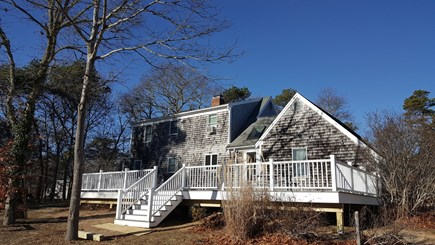 Eastham Cape Cod vacation rental - Newly renovated back deck. Private access to the bike trail.