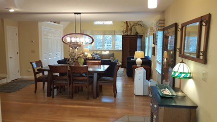 Eastham Cape Cod vacation rental - Dinning room and Living room - view from the kitchen.