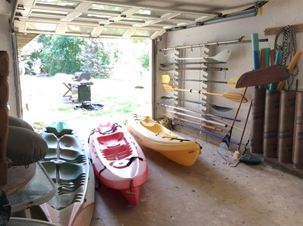 Eastham Cape Cod vacation rental - Kayaks for use. Use, and replace please.