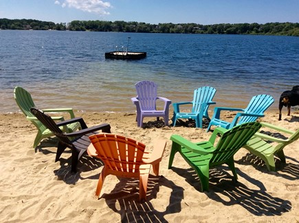 Eastham Cape Cod vacation rental - The private beach for the neighborhood. Abuts our property.