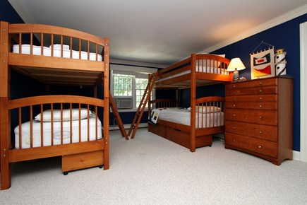 Orleans Cape Cod vacation rental - Bedroom #3 with two sets of Bunk Beds