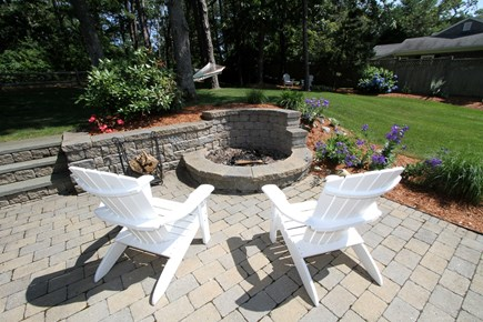 Orleans Cape Cod vacation rental - Fire Pit area