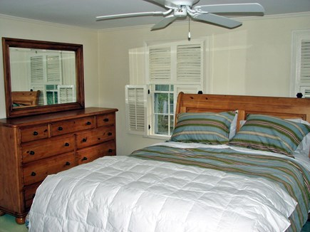 Barnstable Village Cape Cod vacation rental - Master bedroom with queen Sleigh bed