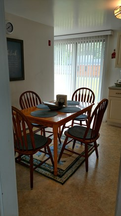Dennisport Cape Cod vacation rental - Eat in Kitchen