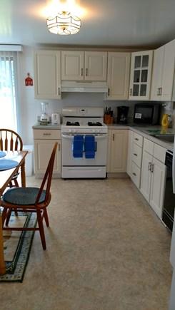 Dennisport Cape Cod vacation rental - Gas Stove, Dishwasher, and Refrigerator