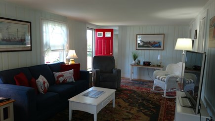 Dennisport Cape Cod vacation rental - Cheerful Living Room with Smart TV, Cable and WiFi