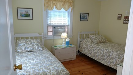 Dennisport Cape Cod vacation rental - Second bedroom with two twin beds and A/C