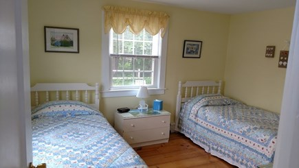 Dennisport Cape Cod vacation rental - Second Bedroom with two twin beds