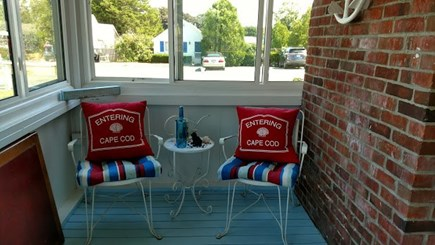 Dennisport Cape Cod vacation rental - And a quiet spot to watch beachgoers passing by