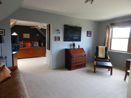 Truro Cape Cod vacation rental - Master Bedroom Sitting Room