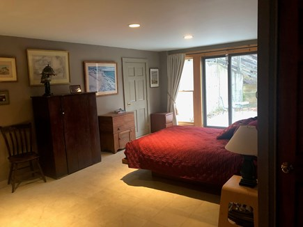 Truro Cape Cod vacation rental - Lower Level Bedroom