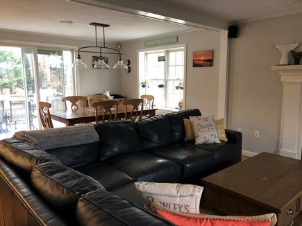 Brewster Cape Cod vacation rental - Open concept living, kitchen, dining
