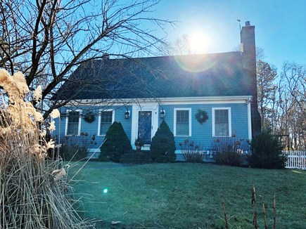 Brewster Cape Cod vacation rental - Front of house with large front yard