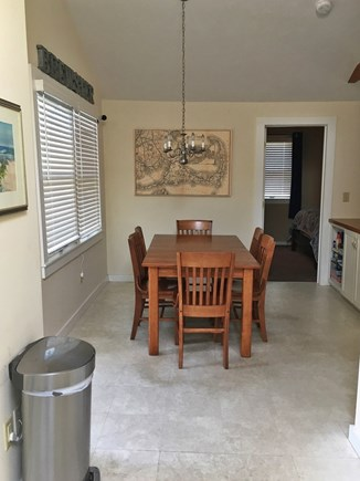 Brewster Cape Cod vacation rental - Dining area - seats 6, just outside of master bedroom.