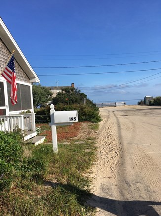 Brewster Cape Cod vacation rental - View of Ellis Landing from front of cottage - just steps away!
