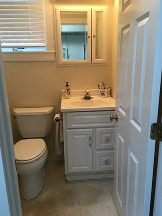 Brewster Cape Cod vacation rental - 1 Full Bath - stand up accessible shower to the left.