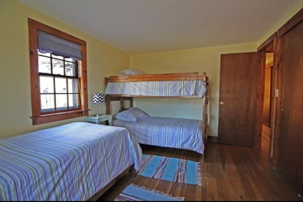 West Dennis Cape Cod vacation rental - Bedroom 2 includes a twin bed and twin bunks