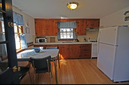 West Dennis Cape Cod vacation rental - Large eat in kitchen with all the cooking essentials