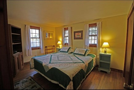 West Dennis Cape Cod vacation rental - Bedroom 1 includes a king size bed