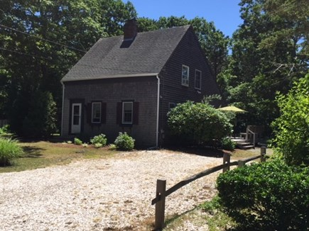 Eastham Cape Cod vacation rental - Front of house and driveway