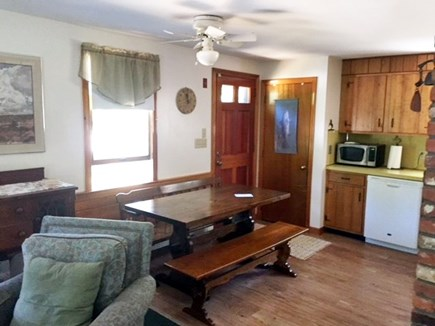 Eastham Cape Cod vacation rental - Kitchen and dining table