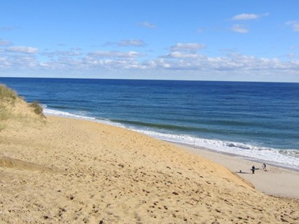 Wellfleet Cape Cod vacation rental - 2.6 mile drive to ocean beaches at Cahoon Hollow Beach