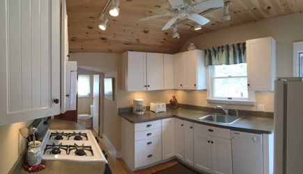Wellfleet Cape Cod vacation rental - Updated kitchen with deck & BBQ grill just outside back door