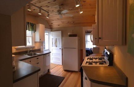 Wellfleet Cape Cod vacation rental - Bright updated kitchen with outdoor shower just outside back door