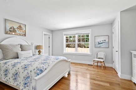 Dennis, Mayflower Beach Cape Cod vacation rental - Spacious First Floor Master Bedroom with TV & private bathroom