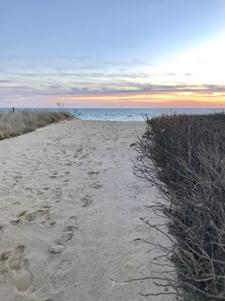 South Chatham Cape Cod vacation rental - Short flat walk to Pleasant Street beach