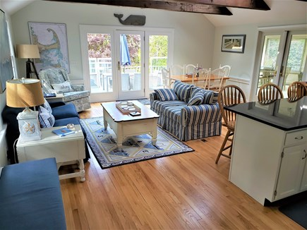 South Chatham Cape Cod vacation rental - Bright and sunny great room gathering place.