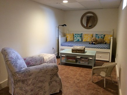 Eastham Cape Cod vacation rental - Reading nook in lower level