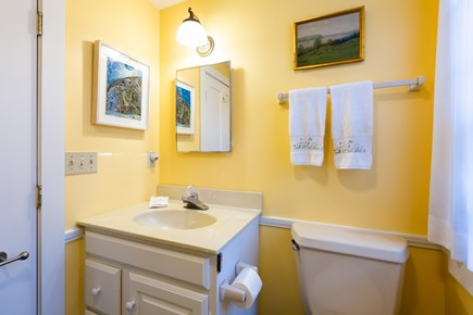 Orleans Cape Cod vacation rental - Second full bath off of kitchen near Office and Annex bedrooms