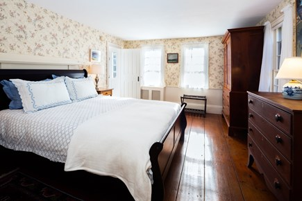 Orleans Cape Cod vacation rental - Master suite with queen bed and AC on main level