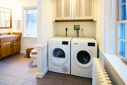 Orleans Cape Cod vacation rental - Master bath with washer and dryer