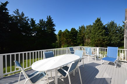 Orleans Cape Cod vacation rental - Spacious deck with outdoor seating and gas grill