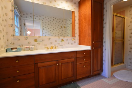 Orleans Cape Cod vacation rental - Master bath with walk-in shower