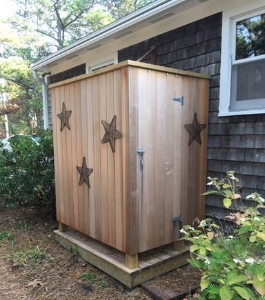 Wellfleet Cape Cod vacation rental - Outdoor Shower - Back yard