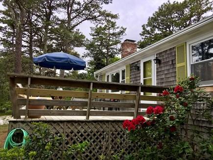 Wellfleet Cape Cod vacation rental - Highland House Deck
