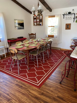 Wellfleet Cape Cod vacation rental - Dining Table - seats 8-10