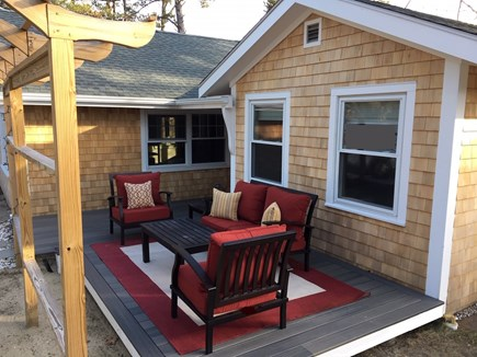 Eastham Cape Cod vacation rental - Front Deck Area