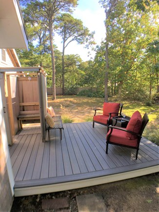 Eastham Cape Cod vacation rental - Back Deck & Outdoor Shower