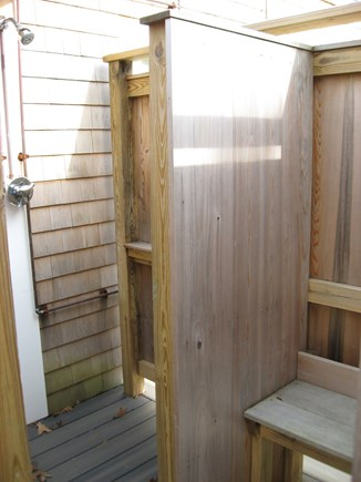 Eastham Cape Cod vacation rental - Great outdoor shower